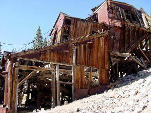 Mary Murphy Mine, St. Elmo, Colorado by Kathy Weiser-Alexander, 2004.