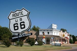 National Route 66 Museum, Elk City, Oklahoma by the Federal Highway Administration.