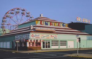 Palace Amusements, Asbury Park, New Jersey by John Margolies, 1978.