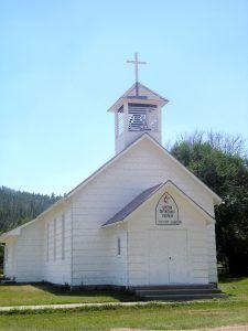 Methodist Church in Pringle, South Dakota by Kathy Weiser-Alexander.