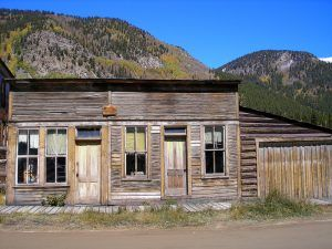 St. Elmo, Colorado buildings by Kathy Weiser-Alexander.
