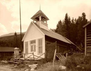 Town Hall, St. Elmo, Colorado, 1984.