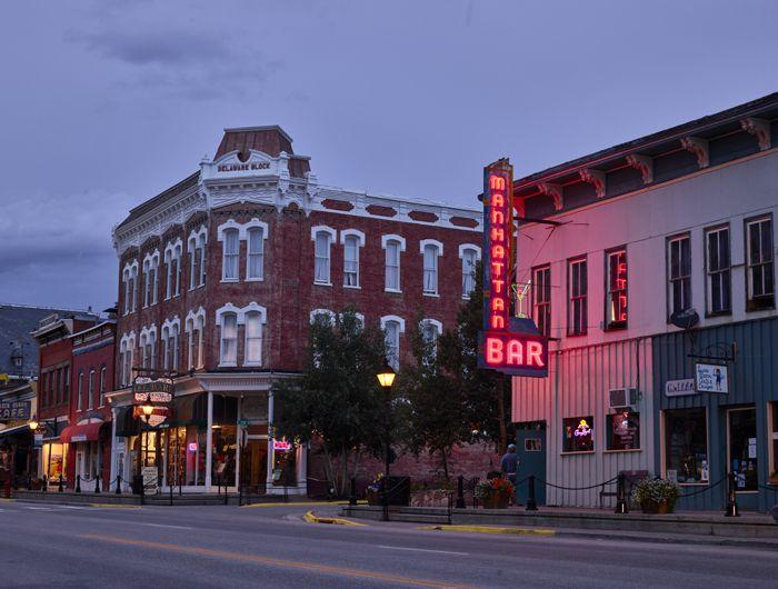 Leadville, Colorado at Dusk by Carol Highsmith.