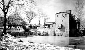 Apple Creek Mill, Old Appleton, Missouri.