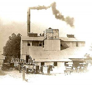 The Appleton Brewing & Ice Company in Old Appleton, Missouri in 1914.