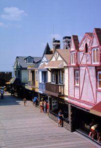 Brigantine Castle Pier, Brigantine, New Jersey by John Margolies, 1978.