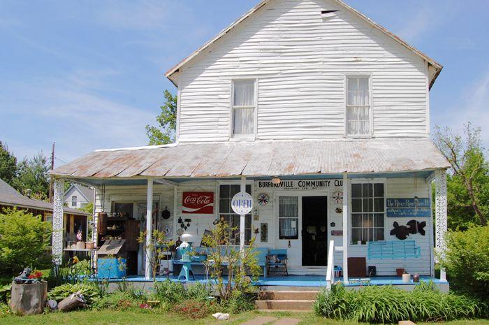 Antique Store in Burfordville, Missouri by Kathy Weiser-Alexander.
