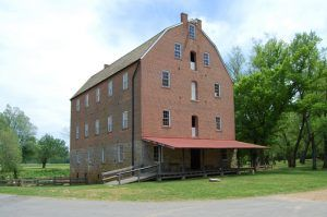 The Bollinger Mill was rebuilt in 1867, photo by Kathy Weiser-Alexander.