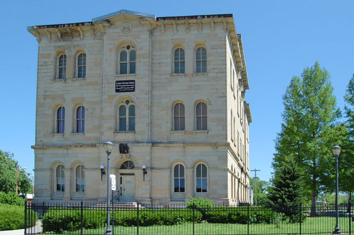 Cairo Customs House, now a museum, houses one of the greatest volunteer-driven museum collections in Illinois. Photo by Kathy Weiser-Alexander.