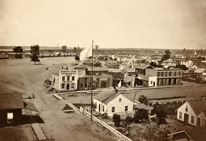 Cairo, Illinois in 1861