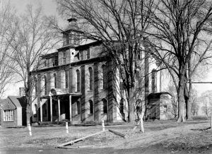 Bellevue Collegiate Institute in Caledonia, Missouri, about 1939.