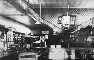 Interior of the the Village Country Store in Caledonia, Missouri.