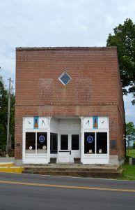 Masonic Lodge in Caledonia, Missouri by Kathy Weiser-Alexander.