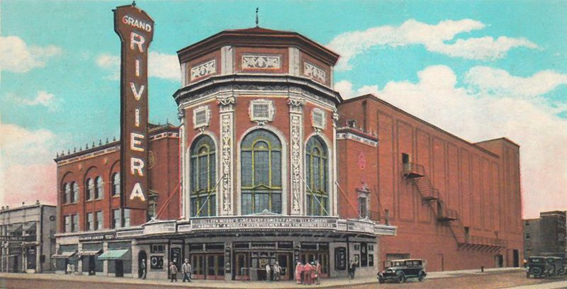 Grand Riviera Theatre, Detroit, Michigan