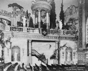 Grand Riviera Theatre Interior, Detroit, Michigan, 1925.