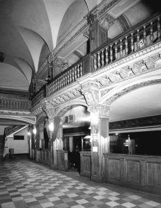 Riviera Theatre Interior by Allen Stross, 1970.