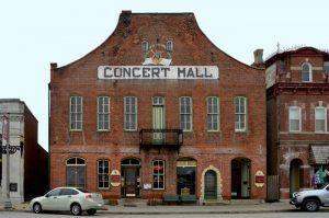 Concert Hall in Hermann, Missouri by Kathy Weiser-Alexander.