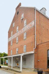 Star Mills in Hermann, Missouri by Kathy Weiser-Alexander.