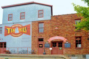 Tin Mill Brewery in Hermann, Missouri by Kathy Weiser-Alexander.