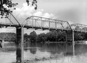 1928 steel truss bridge over the Gasconade River to Jerome, Missouri.