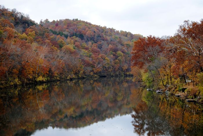 Gasconade River near Jerome, Missouri by Kathy Weiser-Alexander.