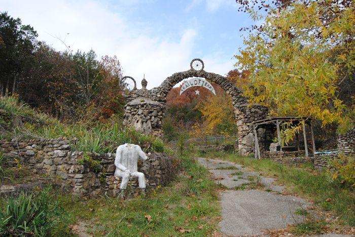 Trail of Tears Memorial in Jerome, Missouri by Kathy Weiser-Alexander.
