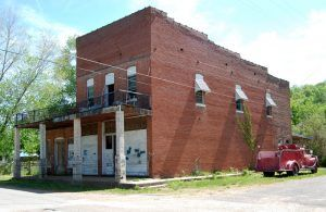 An old building in Mill Spring, Missouri by Kathy Weiser-Alexander.