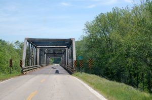 Black River Bridge near Mill Spring, Missouri by Kathy Weiser-Alexander.