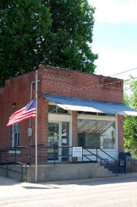 Post office in Mill Spring, Missouri by Kathy Weiser-Alexander.