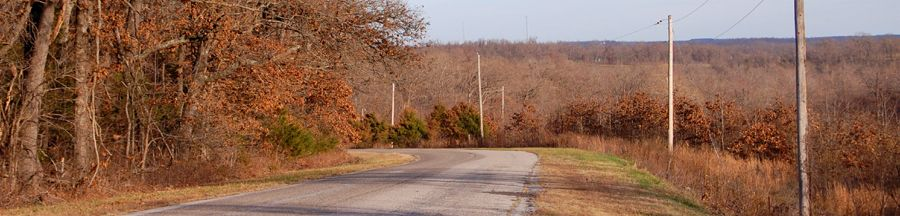 Route 66 in southwest Missouri by Kathy Weiser-Alexander.