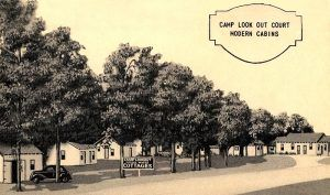 Camp Lookout in Spencer, Missouri during the heydays of Route 66.