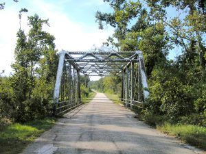 Steel truss bridge just south of Spencer, Missouri on the 1926 alignment of Route 66. Photo by Kathy Weiser-Alexander
