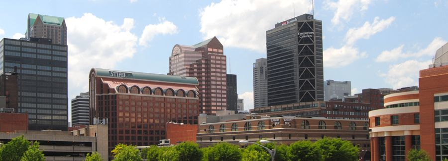 St. Louis, Missouri Skyline by Kathy Weiser-Alexander.