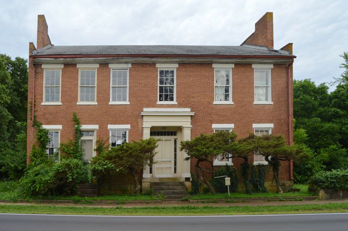 Jane Thompson House in Caledonia, Missouri by Kathy Weiser-Alexander.