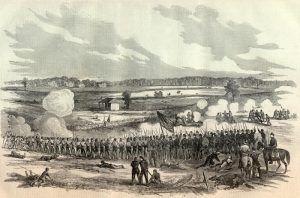 Battle of Perryville, Kentucky by Harper's Weekly, 1862.