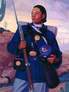 Cathay Williams, Female Army Soldier by William Jennings , U.S. Army