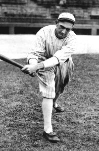 "Chicago White Sox outfield ""Shoeless Joe"" Jackson was a prominent figure in the 1919 World Series scandal"