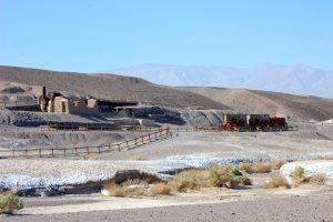 Harmony Borax Works in Death Valley, California by Dave Alexander