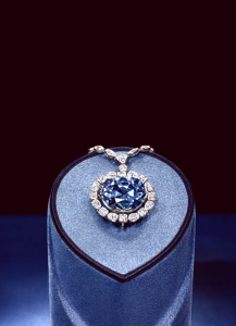 Hope Diamond at the Smithsonian Museum