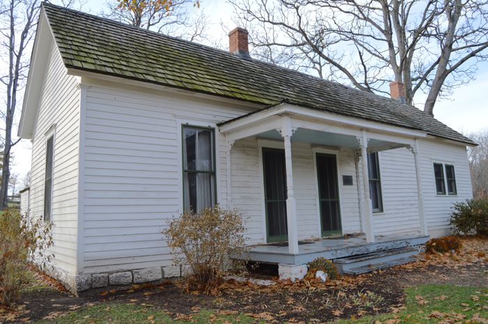 James Home in Kearny, Missouri by Kathy Weiser-Alexander.