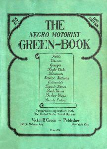Negro Motorist Green-Book, 1940.
