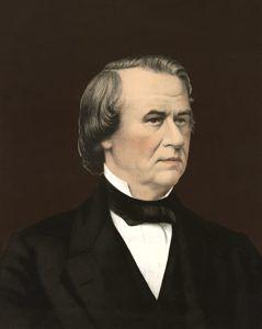 Andrew Johnson by Bingham & Dodd, 1866