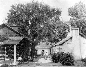 Beale Home at Tejon Ranch, by Carleton E. Watkins, about 1890