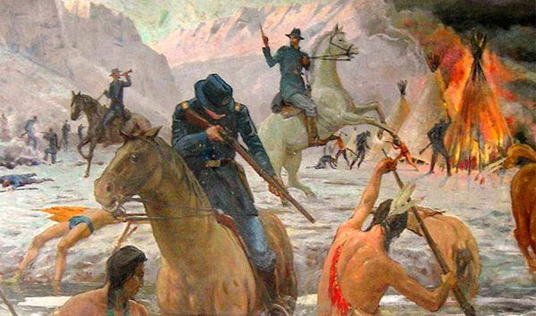Bear River Massacre in Idaho