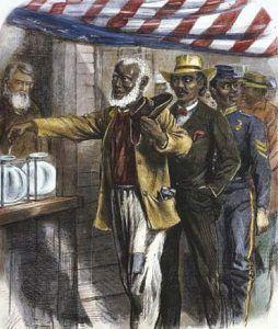 Black men vote.