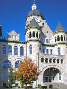 Jasper County Courthouse in Carthage,Missouri by Kathy Weiser-Alexander.