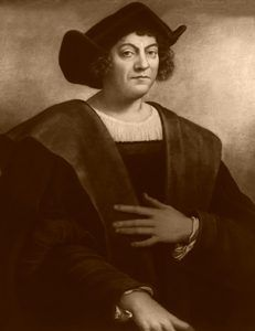 Christopher Columbus by Detroit Publishing, 1908