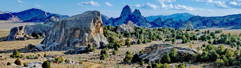 City of Rocks National Reserve, Idaho by the National Park Service.