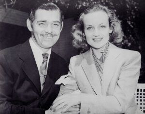 Clark Gable and Carole Lombard after their marriage.