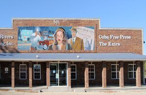 One of the many beautiful murals that can be found in Cuba, Missouri by Kathy Weiser-Alexander.